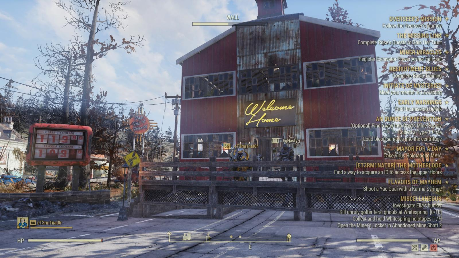 Cribs: Fallout 76, WELCOME!