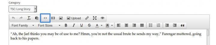 Blog Editing