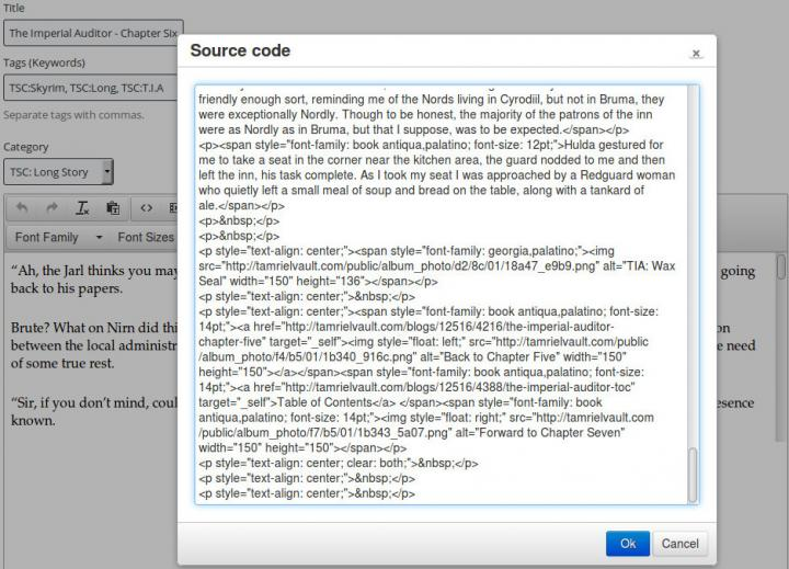 Blog Source Code