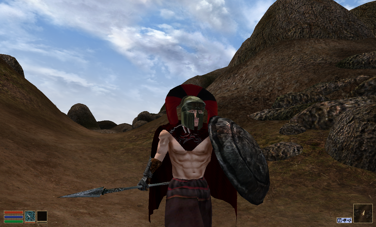 THIS. IS. SPARTA! Err.. Morrowind