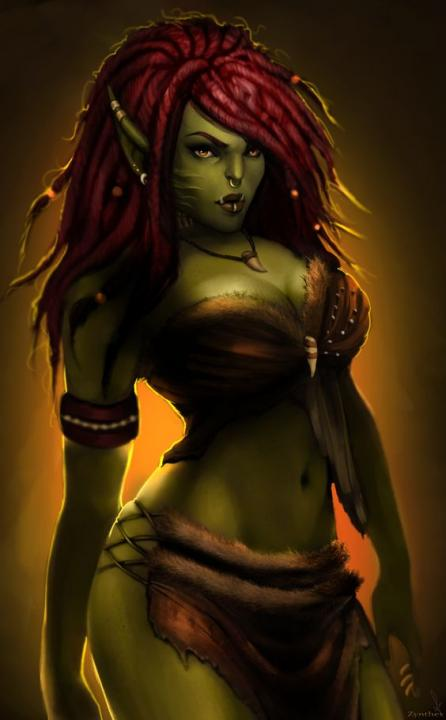 Orc Chick!