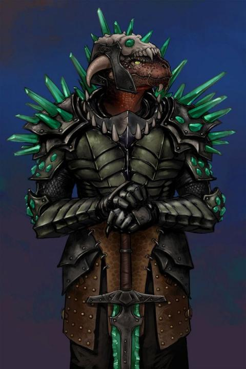 Argonian Knight of Glass