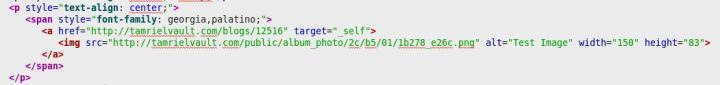 Single image link code