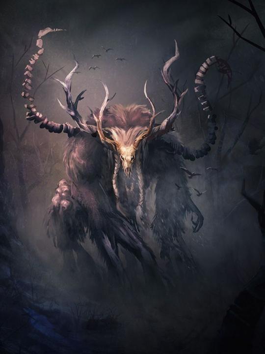 Tamriel Vault - Character Build: The Wendigo