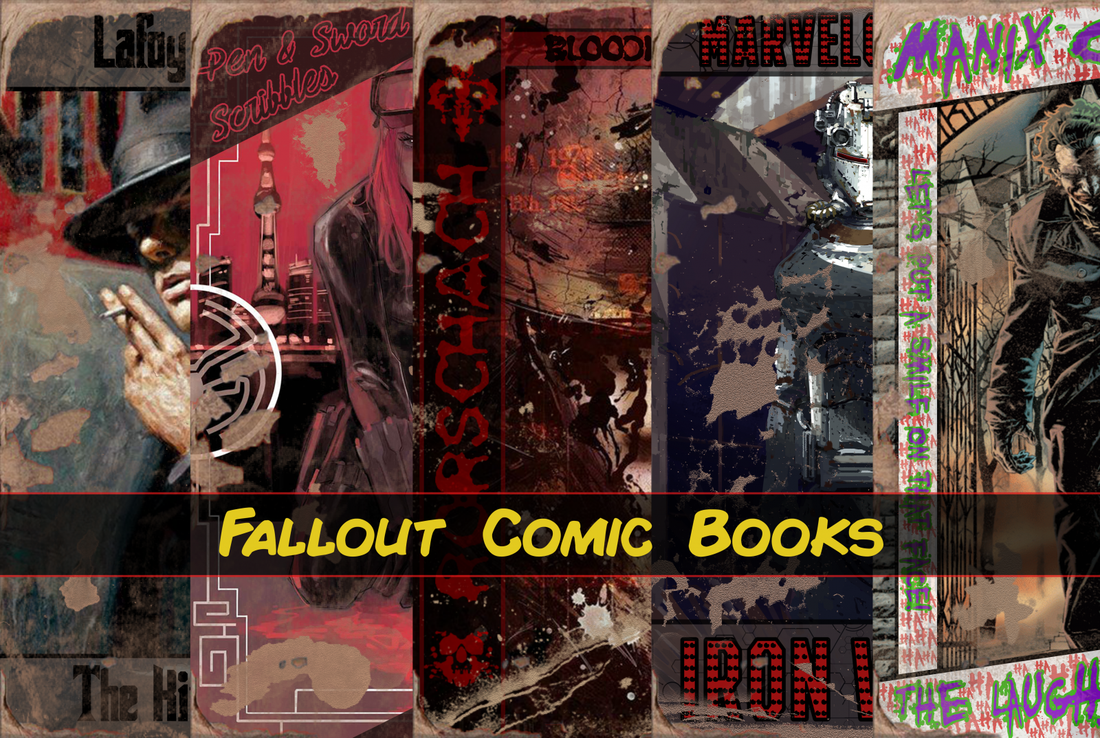 Fallout Comic Books