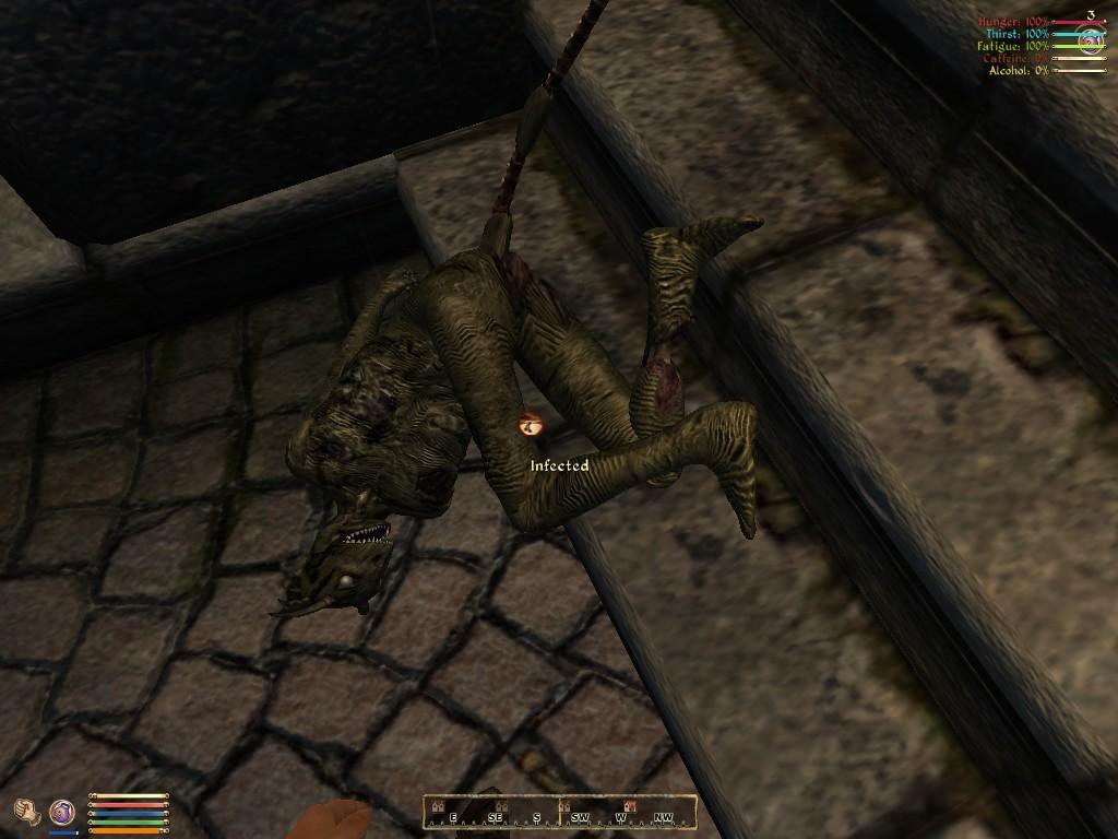 What is more creepy than an Argonian zombie?