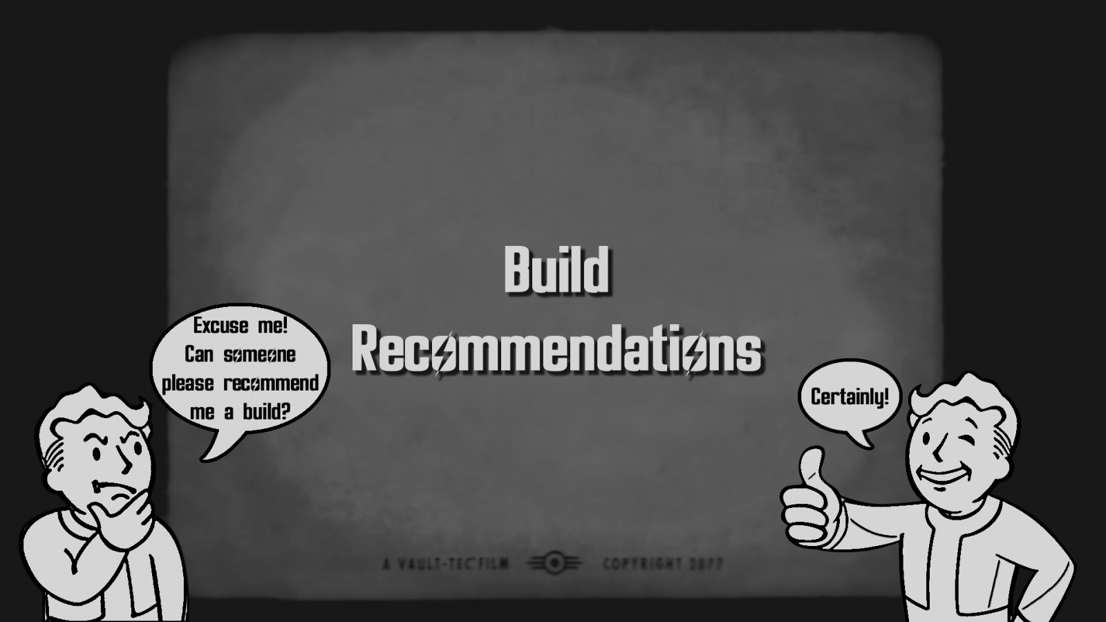 Fallout Build Recommendations