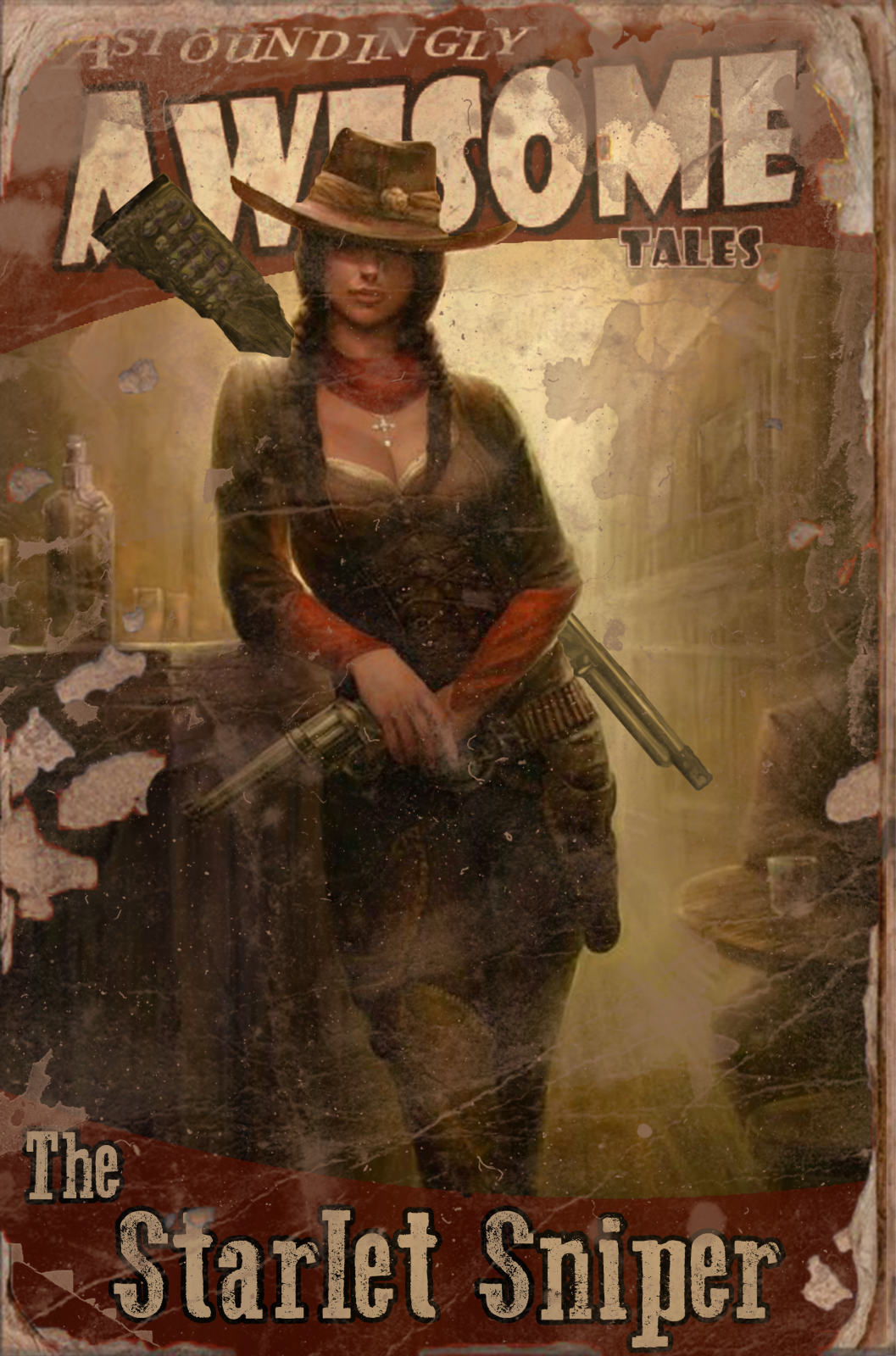 Fallout Comic Books: The Starlet Sniper!