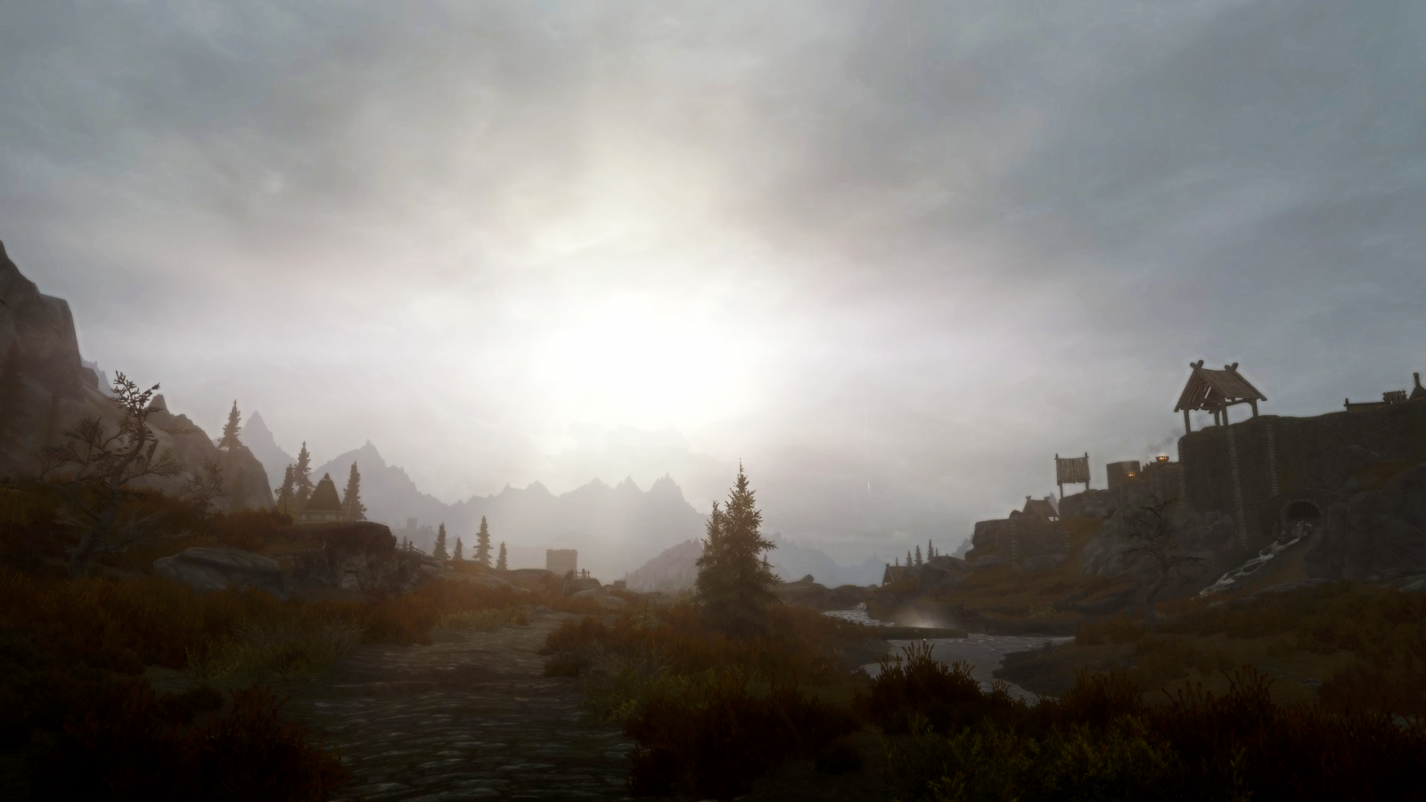 Road Into Whiterun