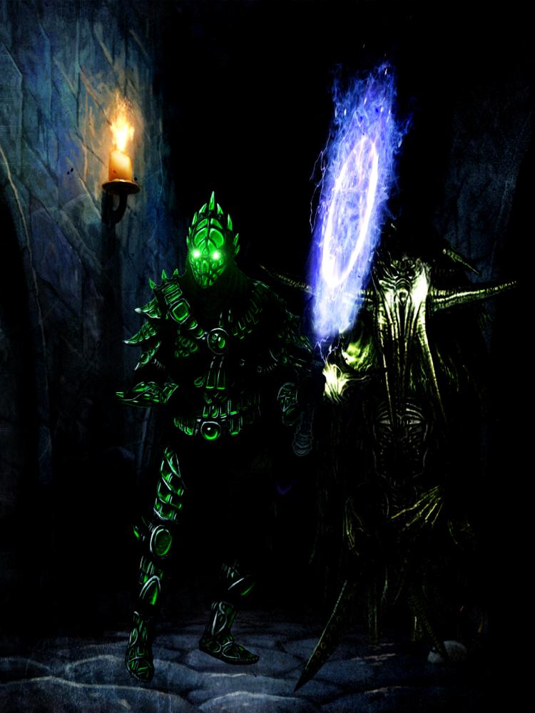 Tamriel Vault - Character Build: Siphoner