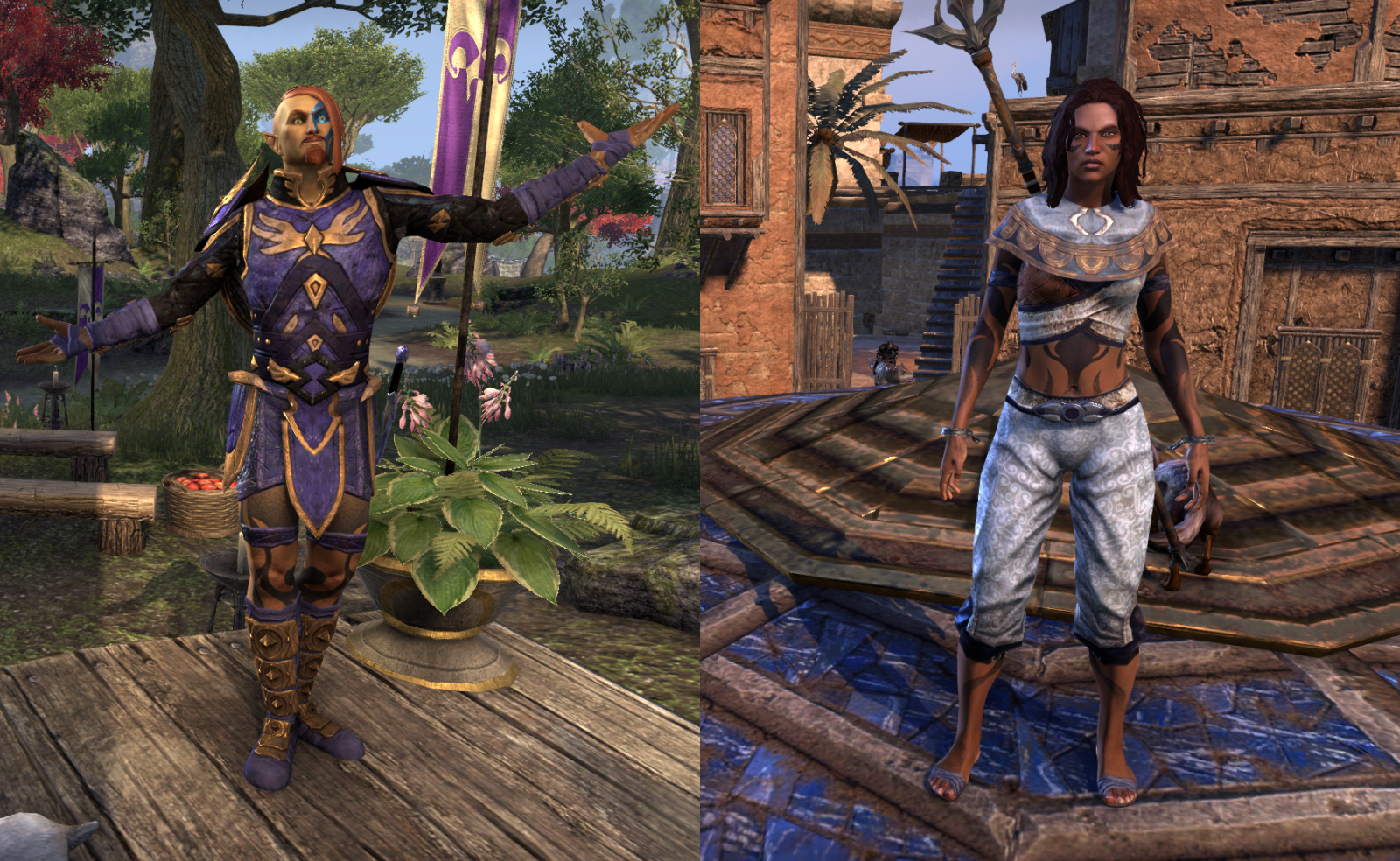 More ESO Outfits
