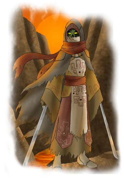Tamriel Vault - Character Build: The Gaunt Robe